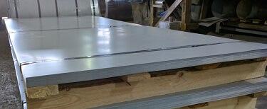Листовая оцинкованная сталь с полимерным покрытием